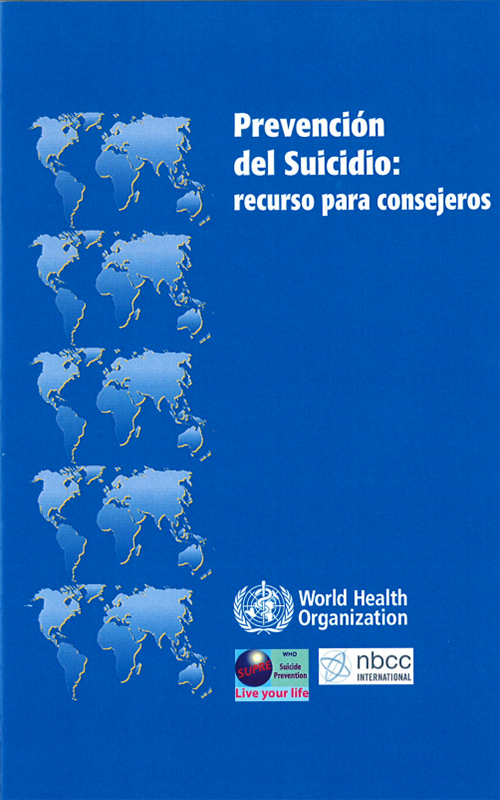 Preventing Suicide: a resource for counsellors - Spanish